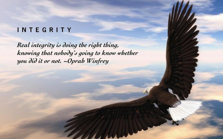 Integritas: Satunya Kata dengan Perbuatan