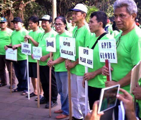MUPEL Bekasi menggebrak acara Gerakan Bersih Kota Bekasi